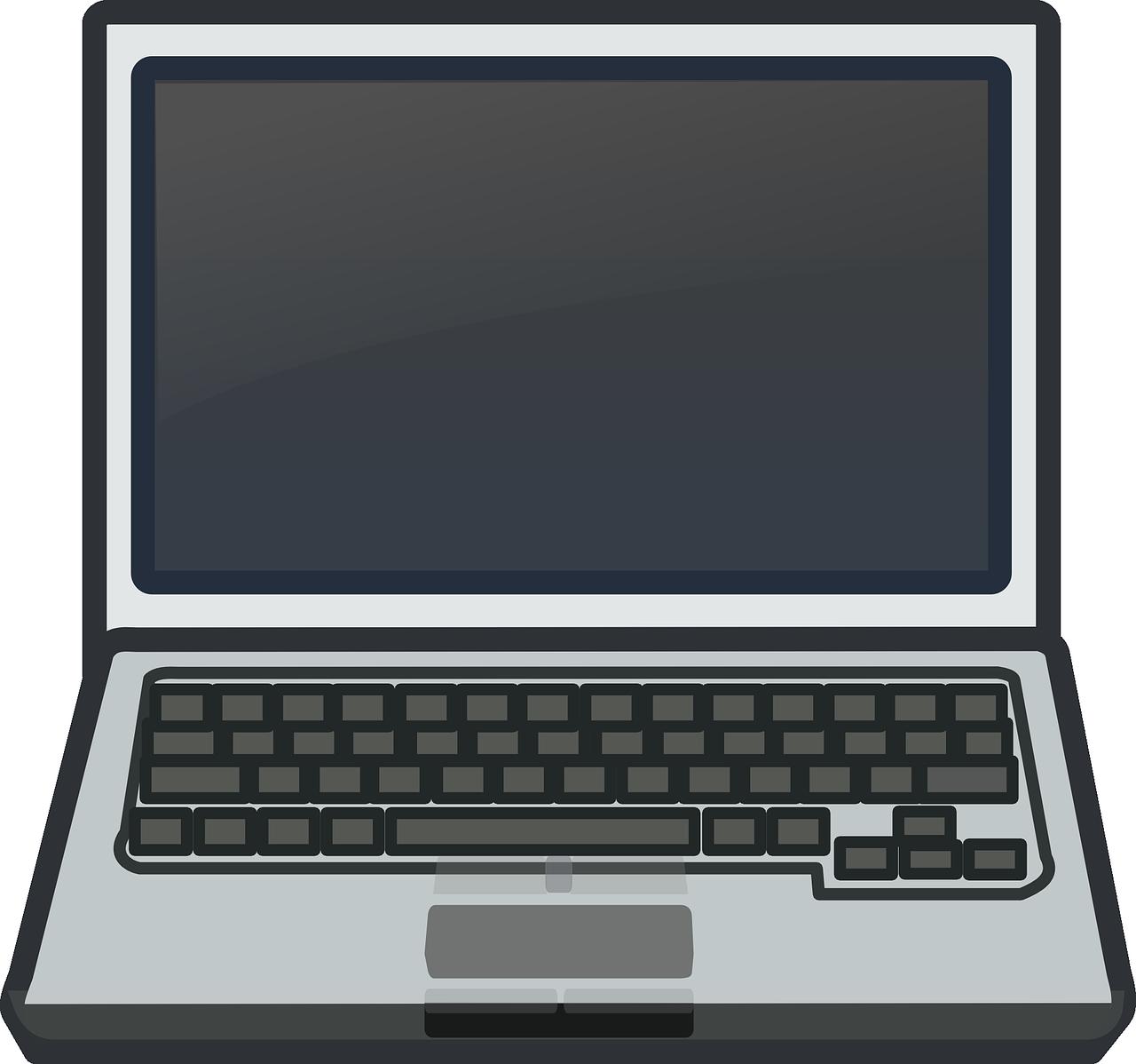 Laptop clipart Use Laptop Art Clip Public