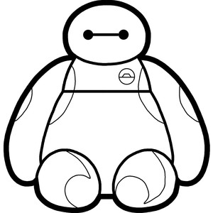 Larger clipart baymax Movie View Polyvore Hero Sitting