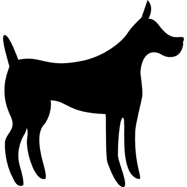 Larger clipart big dog Large big 57035 Silhouette silhouette_318