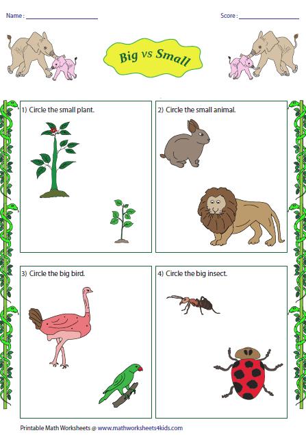Larger clipart big vs And vs Small Big Jungle