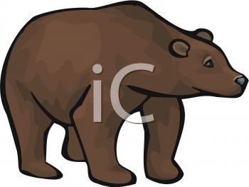 Larger clipart brown bear Net Brown Clipart Bear Fours