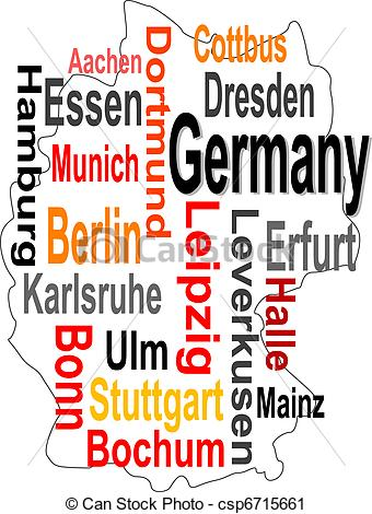Larger clipart can And words and Art Germany