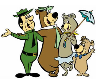 Larger clipart funny bear Tent Weekend; and camping Yogi