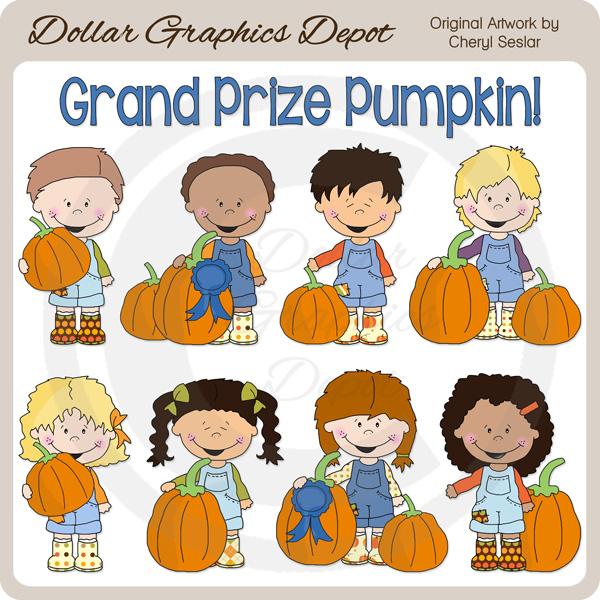 Larger clipart grand Kids Prize : Grand Pumpkin