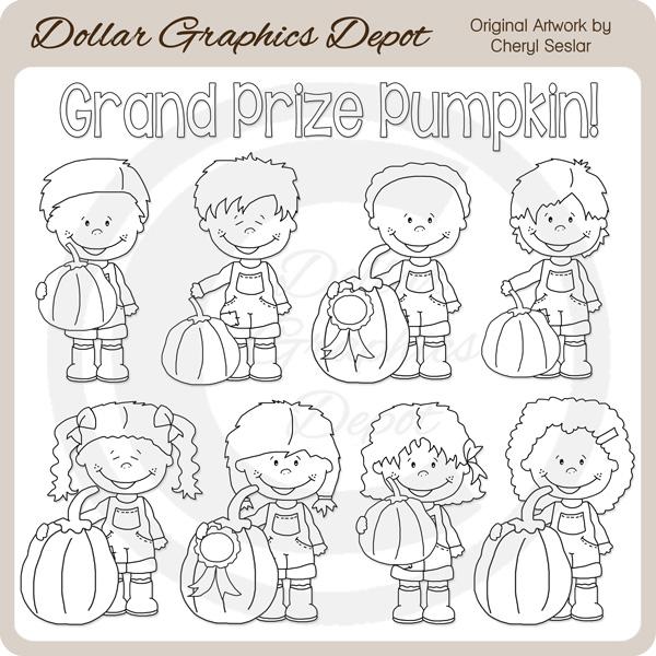 Larger clipart grand Prize image Clip $1 larger