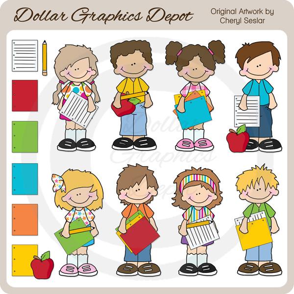 Larger clipart homework Dollar Art Kids Graphics Homework