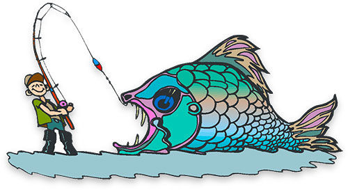 Larger clipart large fish Clipart on line Fish the