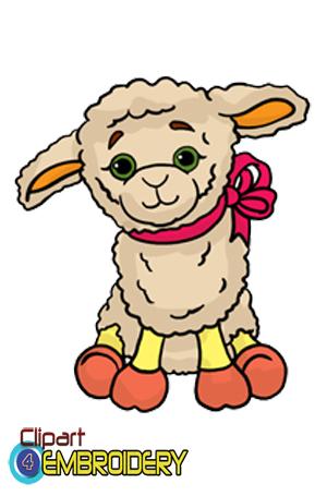 Larger clipart little For Assorted Lambs Little Little