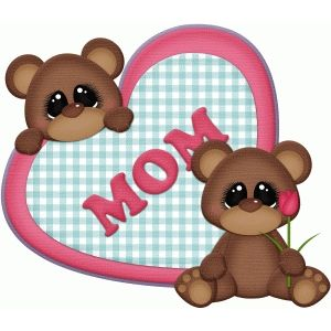 Larger clipart mother bear Mothers Clip 106 Day best