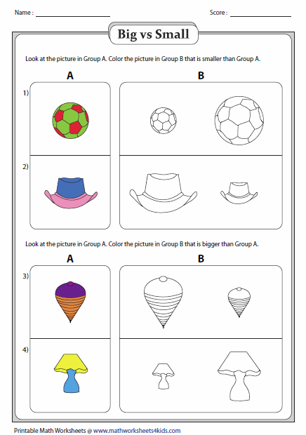 Larger clipart object Big Objects Coloring and Worksheets