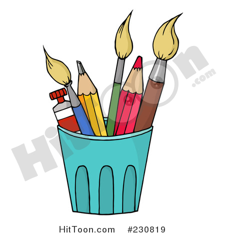 Larger clipart paintbrush Illustrations  Royalty Free &