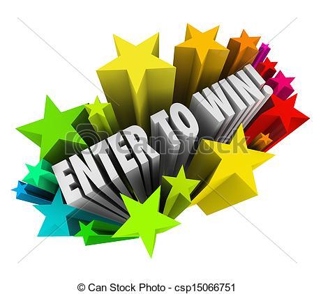 Larger clipart raffle winner Enter csp15066751 of Illustrations