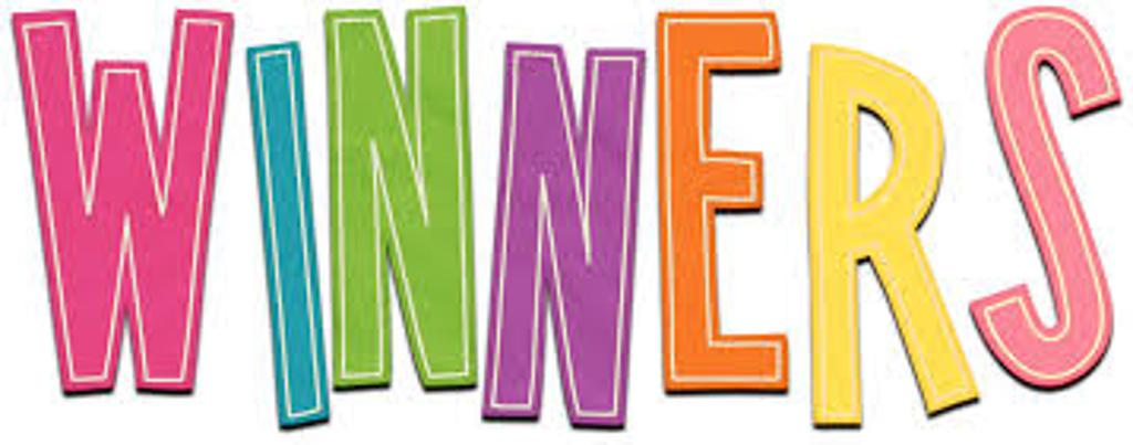 Larger clipart raffle winner  Winners 2016 Raffle 2017