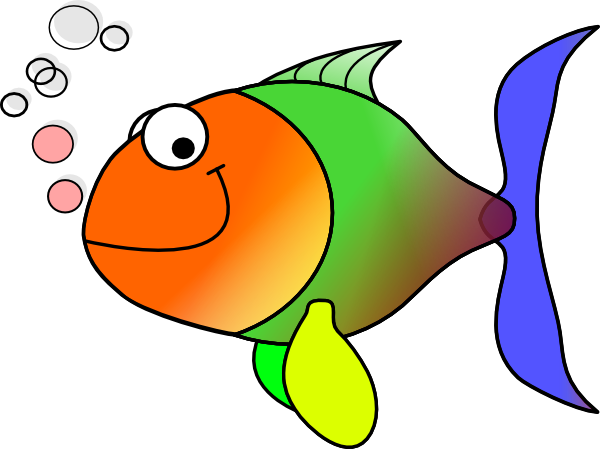 Larger clipart small fish Large Fish · medium online