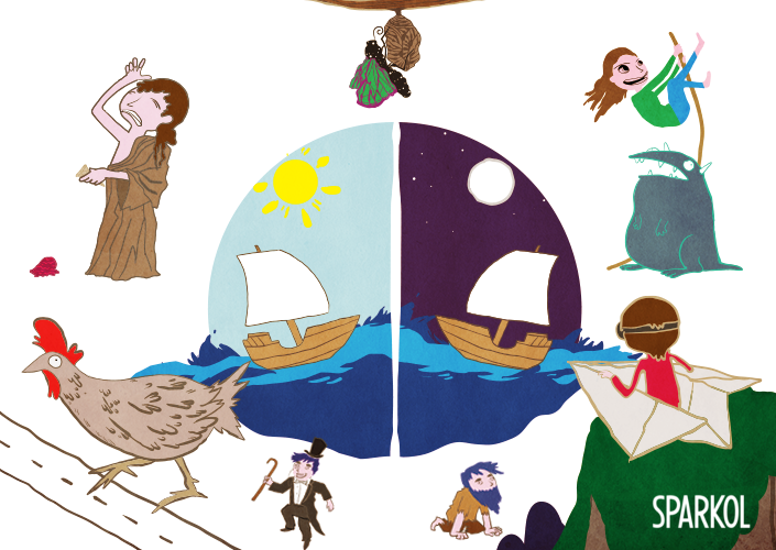 Larger clipart story telling competition 8 Sparkol storytelling entrance audiences