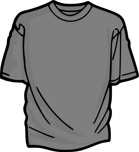 Larger clipart t shirt Clip vector shirt Clker