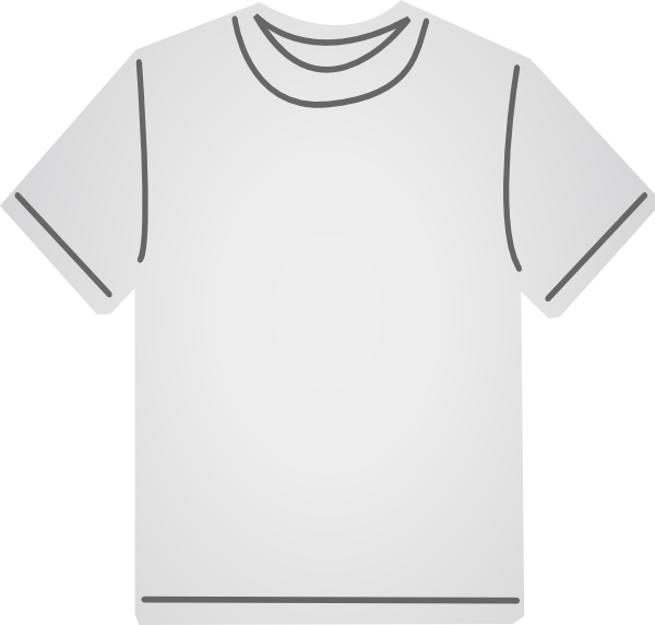 Larger clipart t shirt Vector Clker online com Tags