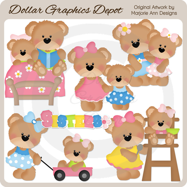 Larger clipart tiny  Clip Dollar Graphics $1