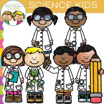 Larger clipart won Kids Science Art School about