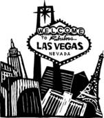 Las Vegas Clipart Black And White Clipart of rr_sw_vegas_c collection vegas