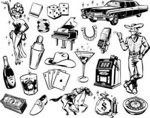 Las Vegas Clipart Black And White Las vegas vegas art Las