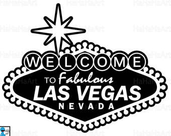 Las Vegas Clipart Black And White Las Vegas / Graphic vegas