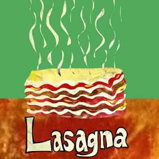 Lasagne clipart Lasagna  Art And Salad