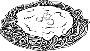 Lasagna clipart Clip Black and image 2010