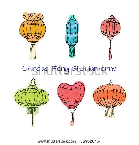 Latern clipart chinese new year decoration #12