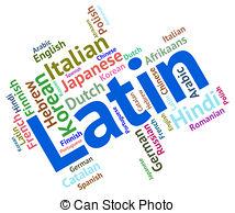 Latin clipart Stock 099 Lingo art Latin
