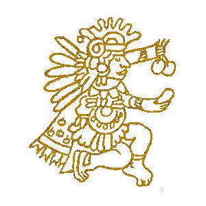 Aztec clipart latin #4