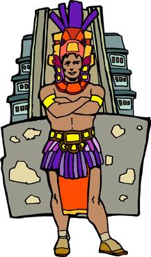 Aztec clipart latin #6