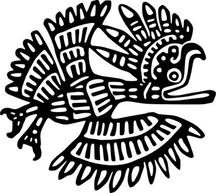 Aztec clipart latin #1