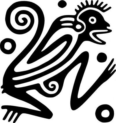 Aztec clipart latin #3