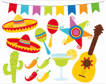 Spanish clipart mexican party Free Clipart Art Cliparts Download