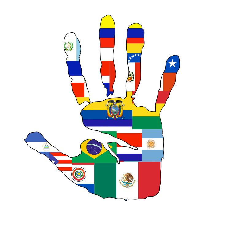 Latin clipart hispanic culture Group Celebrating Five High @The