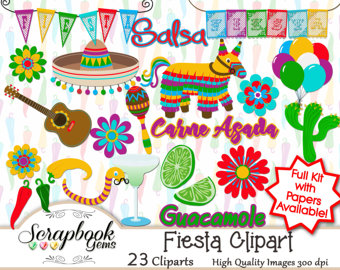 Chihuahua clipart guacamole Files sombrero party FIESTA! guitar