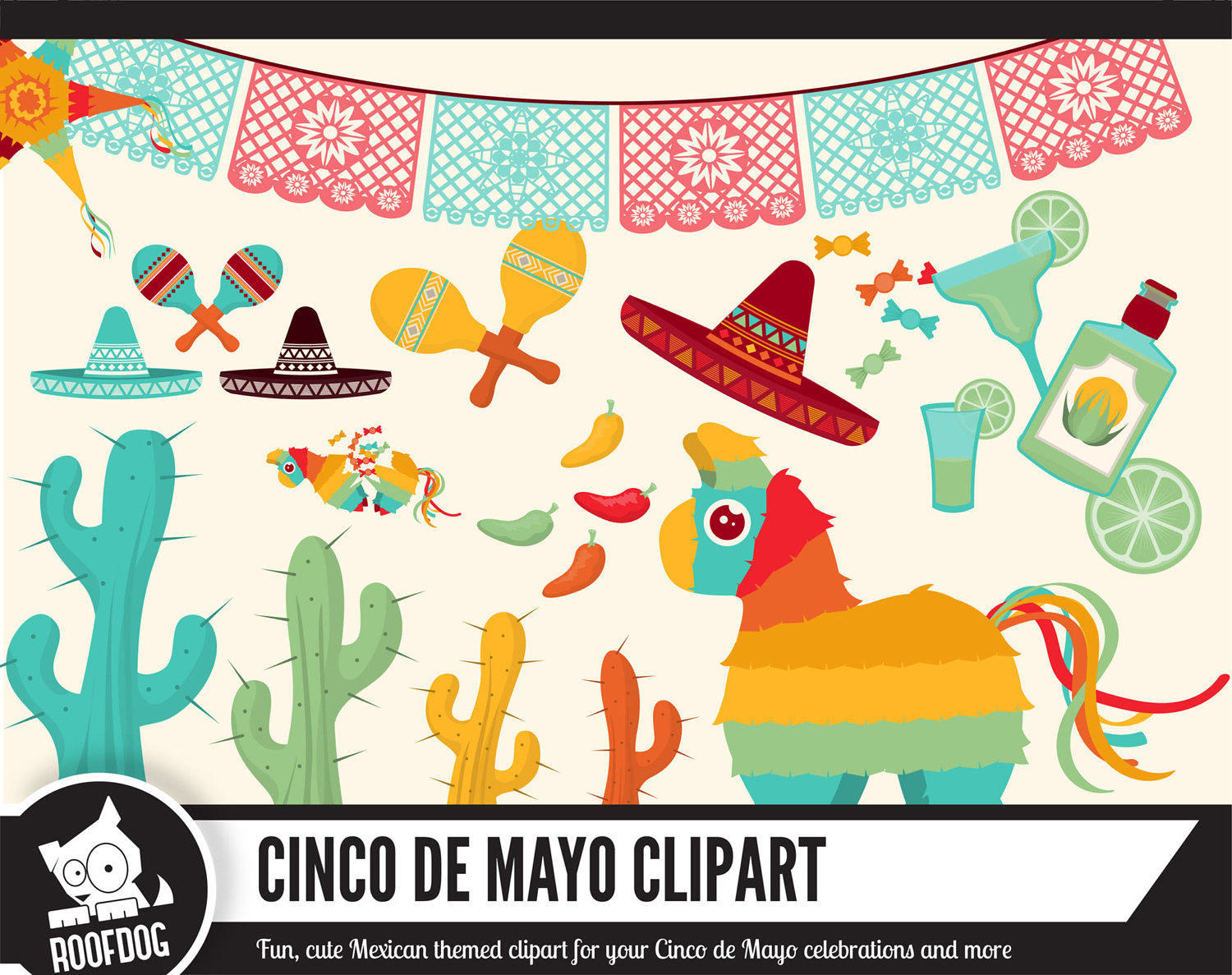 Tequila clipart mexican banner Mexico Taco Clipart papel on