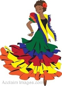 Latin clipart mexican lady Mexican Woman Clipart Folklore clipartsgram