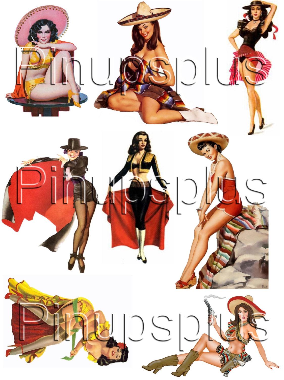 Latin clipart mexican lady Latina Rockabilly 43 Mexican Latina