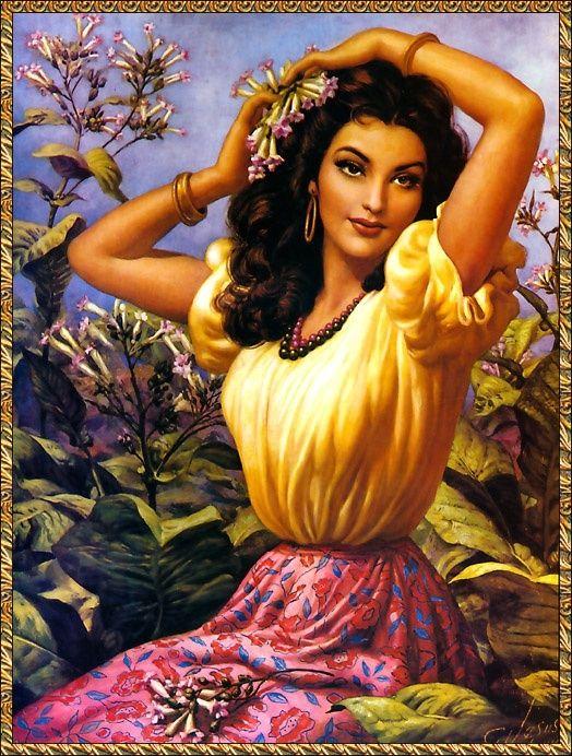 Latin clipart mexican lady Mexican Pinterest calendar mexican art