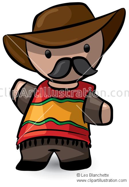 Cowboy clipart vaquero Mexican/South Vaquero/Cowboy Poncho Chulo ClipArt