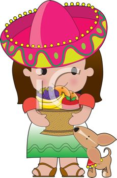 Latin clipart mexican woman A Cinco Image Clipart Mexican