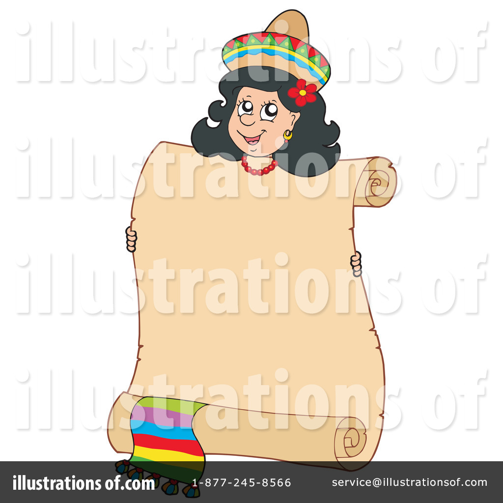 Latin clipart mexican woman Free Vector clipart woman rf