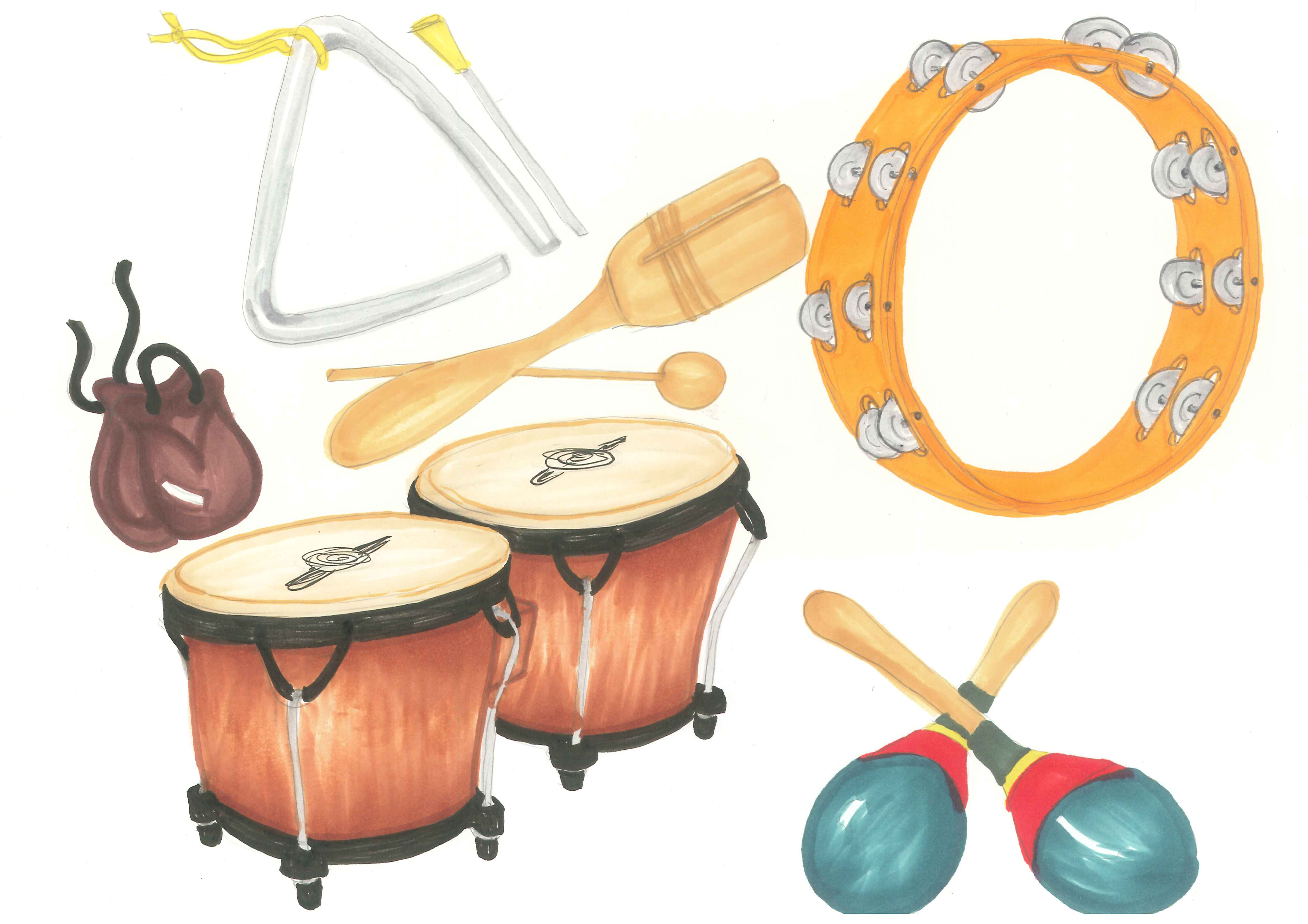 Latin clipart percussion instrument Music Cliparts Image Clipart Instrument