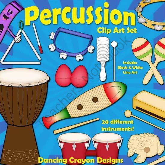 Latin clipart percussion instrument Best Clip TeachersNotebook Musical on