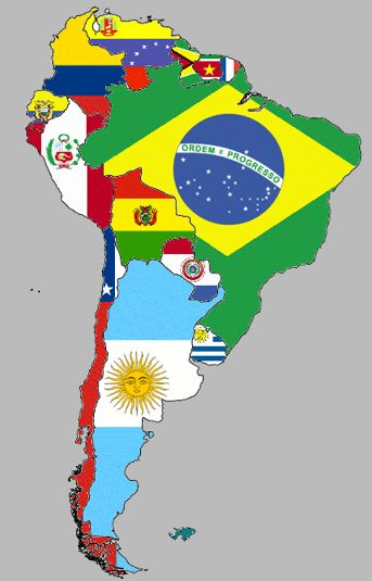 Parrot clipart south america culture MapLatin South 25+ flags CSS