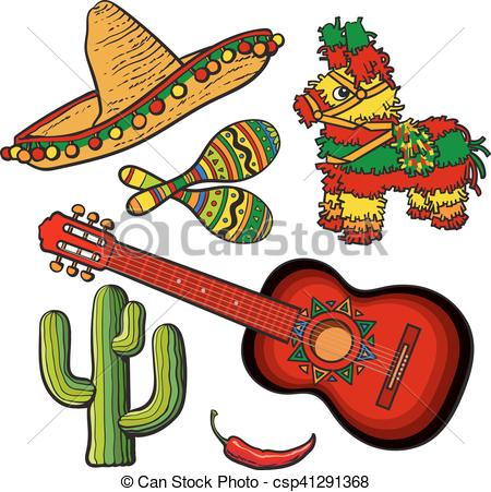 Spanish clipart mexican guitar And guitar Mexican Clip chili