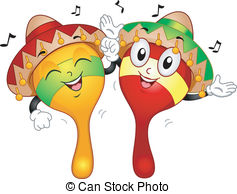 Cuba clipart maraca Pair 4 Maracas Maracas and