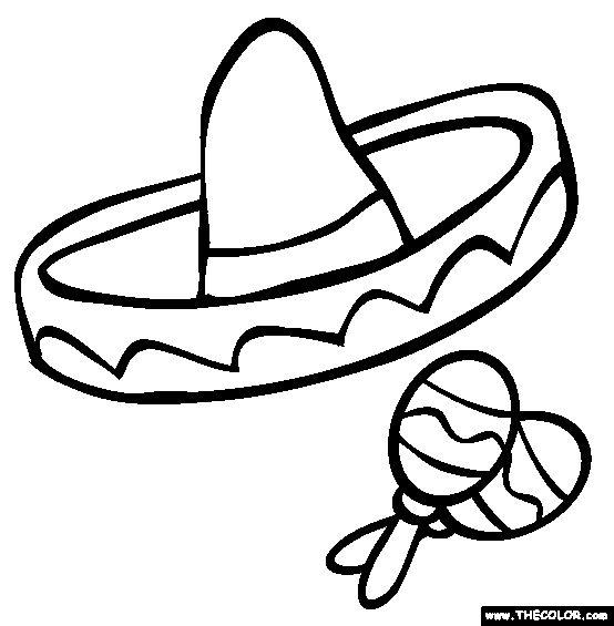 Latin clipart spanish maraca Sombrero on Pinterest Snowman about